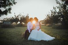 A Wildflower and Woodland Inspired Rustic, Rural Barn Wedding | Love My Dress® UK Wedding Blog