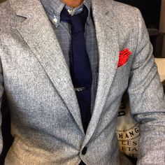 Gray Suiting