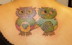39 Awesome Small Owl Tattoo Ideas for You // May, 2020 Owl Tattoo Design, Tiny Owl Tattoo, I Tattoo, Tattoo Designs, Tattoo Ideas, Watercolor Owl Tattoos, Small Owl, Cute Tattoos, Tatting
