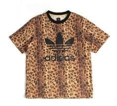 Leopard Print Adidas Shirt