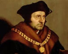 """Sir Thomas More, subject of the play """"A Man For All Seasons"""", by Robert Bolt.  Follow the link attached to this image and read my review for this classic play.  Be sure to """"like"""", share and leave a comment."""