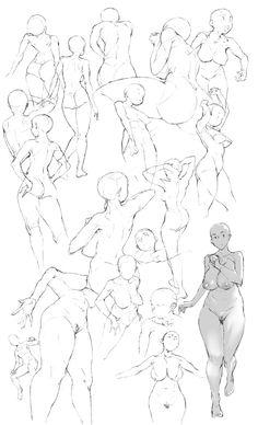 Female body drawing