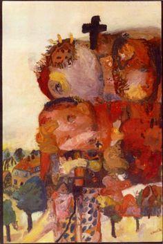 Georg Baselitz, deutscher Maler und Bildhauer, internationakes Renomee, geb. 23.01.1938 als Hans-Georg Kern in Deutschbaselitz/Sachsen