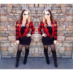 LIVE on the blog now! You know what to do - CLICK the link now! #ootd #NotSoPinkKindofGirl #NotSoPinkStyling #NSPStyling #plaid #flannel #fashion #fashionblogger