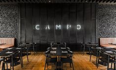 The opening of the Campo Modern Grill in the old Polish city of Wrocław is noteworthy on at least two fronts. First, for its location on the ground floor of the blinding white, bean-shaped curve of the OVO building, designed by Gottesman-Szmelcman Arch...