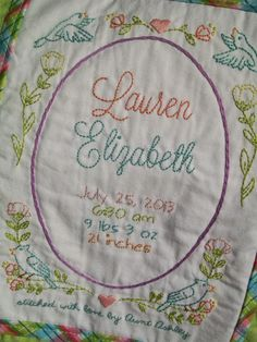 Grace and Love {a craft blog}: A Quilt for Lauren