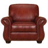Found it at Wayfair - Mackenzie Leather Chair