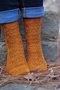 Looking glass socks