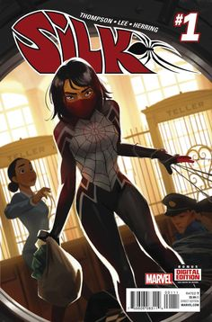 "In ""Silk"" #1, Cindy Moon strikes out for her own superheroics after the shenanigans in the Spider-Verse."