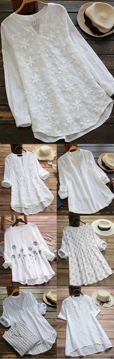 Casual Tops for You.Take It for Coming Spring Summer.Shop Now! Casual Tops for You.Take It for Coming Spring Summer.Shop Now! Mode Outfits, Trendy Outfits, Vetement Fashion, Blouse Outfit, Fashion Sale, Womens Fashion, Mode Inspiration, Plus Size Tops, Casual Tops