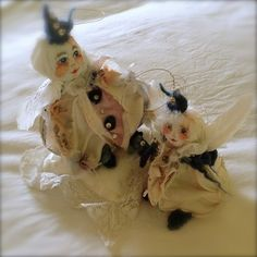 Penelope and Poppy from the Fey Collection; created and photographed by Martha Young McQuilkin, Owner of Whimble Designs
