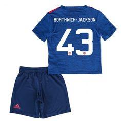 Manchester United Trøje Børn 16-17 Cameron #Borthwick-Jackson 43 Udebanesæt Kort ærmer.199,62KR.shirtshopservice@gmail.com