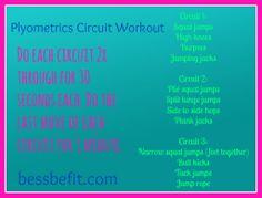 Be Fit Friday: Plyometrics Circuit Workout