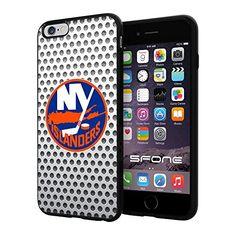 "New York Islanders White Net #2182 iPhone 6 Plus (5.5"") I6+ Case Protection Scratch Proof Soft Case Cover Protector SURIYAN http://www.amazon.com/dp/B00X5S12ZG/ref=cm_sw_r_pi_dp_XFICvb1QYWQ6D"