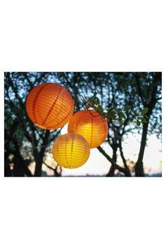 Boule Lanterne Lampions Papier 13 coloris - 5 tailles - Déco Extérieur - Mariage Cérémonie-Anniversaire Nouvel An Noel