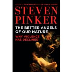 Things aren't as violent today as they were in the past, and Steven Pinker can prove it. This book changed the way I thought about a lot of things -- for one, what a sheltered existence we have in the 21st century.