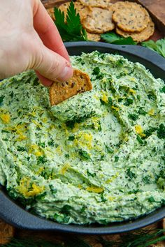 This Feta and Herb Dip Closet Cooking is a best for your Lunch made with wholesome ingredients! Greek Recipes, Dip Recipes, Delicious Recipes, Greek Yogurt Dips, Whipped Feta, Feta Dip, Carlsbad Cravings, A Food, Food Processor Recipes