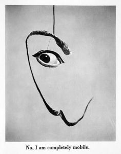 From the book Dali's Mustache by Philippe Halsman, 1954.