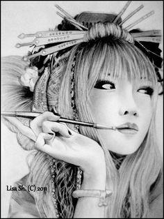 a Modern geisha by *Lisa-Of-The-Moon on deviantART