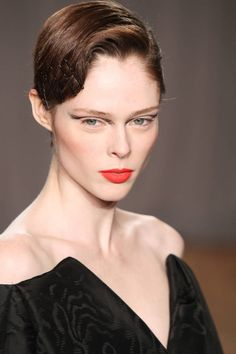 See some of our favorite beauty trends spotted at New York Fashion Week. Click for more!