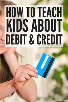 <<DIRECTLY FROM SITE>> We live in a digital age -- and that includes our money! It is important that kids understand credit and debit - and how they work! Get some tips and real life ideas on how to teach your own kids! Parenting Teens, Gentle Parenting, Parenting Advice, Funny Parenting, Teaching Kids, Kids Learning, How To Teach Kids, Discipline, Financial Literacy