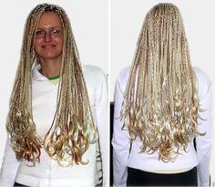 Individual Braids - Rastazöpfe mit blondem Kunsthaar von www.Boostylez.de