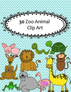 This set includes 10 different animals in both transparent and black and white. 30 Clip art images in all. All created in 300 PPI and saved as a PNG image so that they are easily moved. For Personal and Classroom use. Please give my store credit! Thank you!