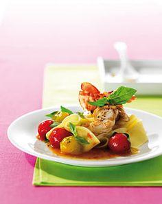 Bandnudeln mit Maracuja-Tomaten - Hauptgerichte mit Tomaten - [LIVING AT HOME]