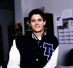 One tree hill, James Lafferty. GOD HE IS SEXY!