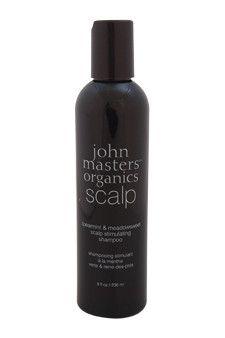 spearmint & meadowsweet scalp stimulating shampoo by john masters organics