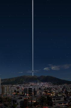 もし地球に「土星のような輪があったら」世界の各都市から見える風景 | DDN JAPAN