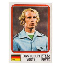 Panini München 74 Sticker Nr. 87 - Hans-Hubert Vogts WM 1974 vorne