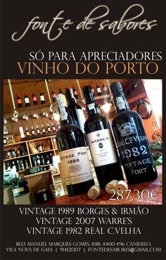 We have 3 Vintage #port wine. The best.