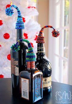 Nightcap Bottle Toppers