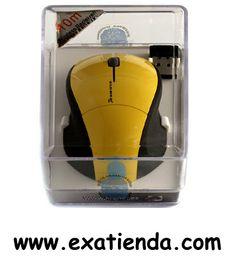 Ya disponible Rat?n Kloner USB mini retr?ctil amarillo   (por sólo 12.95 € IVA incluído):   -Mini ratón USB, 800dpi. Elegante diseño en varios colores. Pequeño formato, ideal para portátiles, Cable retráctil.  -Color: amarillo  Garantía de 24 meses.  http://www.exabyteinformatica.com/tienda/1169-raton-kloner-usb-mini-retractil-amarillo #mini #exabyteinformatica