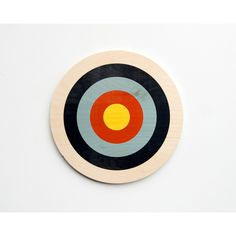 Target Wall Art, Circle Wall Decor, Target Decor, Bull's Eye Art,... ❤ liked on Polyvore featuring home, home decor, wall art, circle wall art, target wall art and target home decor