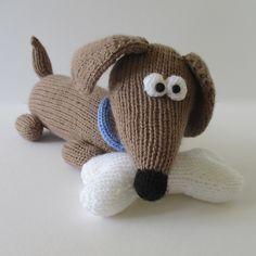 Ravelry: Bangers the Sausage Dog pattern by Amanda Berry