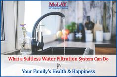 What a Saltless Water Filtration System Can Do for Your Family's Health and Happiness http://qoo.ly/gubgu #HealthyLiving #CleanWater