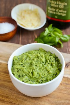 Save your syns with this delicious pea pesto - at just 1 Healthy Extra A choice and 1 syn per serving, it is perfect for smothering over pasta. One thing I love is basil pesto Slimming World Vegetarian Recipes, Slimming Recipes, Vegetarian Snacks, Pesto Pasta Recipes, Healthy Chicken Recipes, Lasagne Recipes, Rice Recipes, Veggie Recipes, Soup Recipes