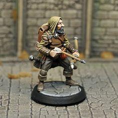 DAH6 – Human Male Ranger   Otherworld Miniatures