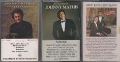 Johnny Mathis Cassette Lot (1.99) Find Johnny Mathis cassette lot for $1.99 at Ecrater.com Have finally reached over 2,000 pieces of my favorite music cassettes & cd's on ivanhoe.ecrater.com for sale now. PayPal Buyer Protection. ... Buy with confidence! Huge selection and low prices at the marketplace.