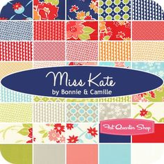 Miss Kate by Bonnie and Camille - Fat Quarter Shop.  I must have this!