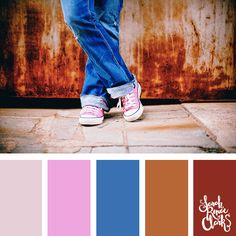 25 Color Palettes Inspired by the Pantone Fall 2017 Color Trends Yarn Color Combinations, Colour Schemes, Color Trends, Color Harmony, Color Balance, Colour Pallette, Color Theory, Pantone Color, Color Inspiration