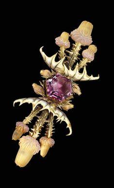 Символика в ювелирном искусстве. Чертополох в работах Ren Lalique — ТРОЙСКАЯ…