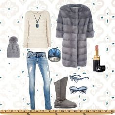 """Winter in the city"" by majachopard ❤ liked on Polyvore"