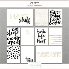 NEW!! Little Lamm & Co, Digital, Create Pocket Card PNGs and Printables Reg Price 4.25