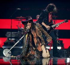 Aerosmith! these guys put on a great show, a MUST see!