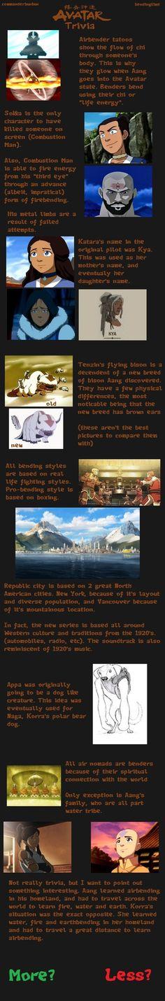 Avatar Trivia