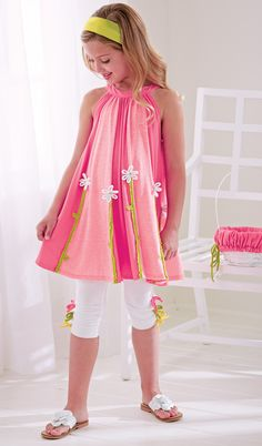 From CWDkids: Daisy Tunic & Mid-Calf Capris