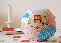 Baby patchwork ball